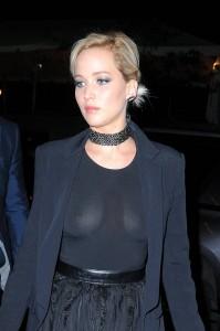 Jennifer Lawrence see through shirt