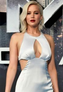 Jennifer Lawrence sexy dress