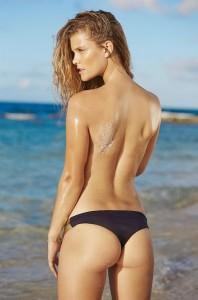Nina Agdal topless photoshoot