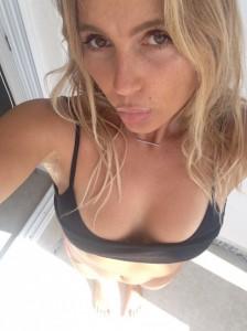 Alana Blanchard selfie boobs