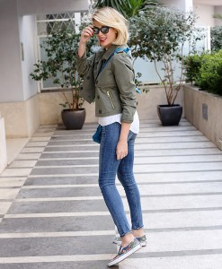 Alessia Marcuzzi at street paparazzi