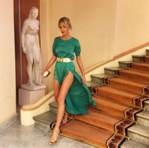 Alessia Marcuzzi legs