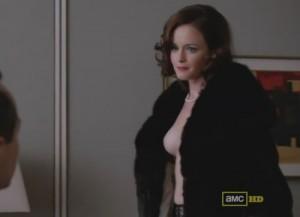 Alexis Bledel nipple screencap