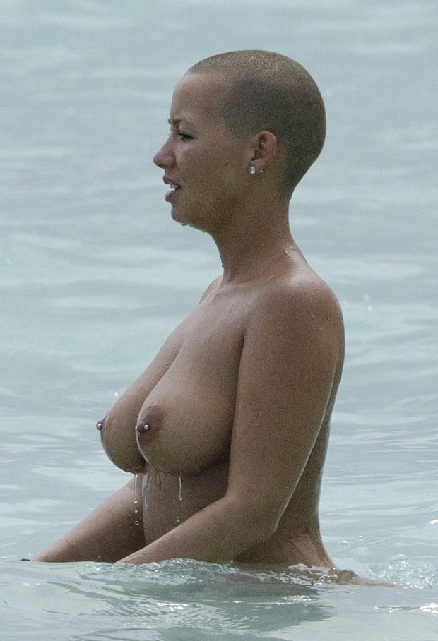 Amber rose butt nude 12