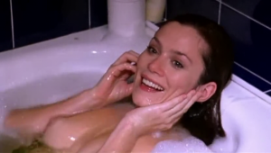 Anna Friel topless bath