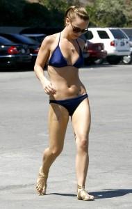 Christina Ricci bikini street voyeur