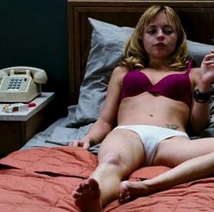 Christina Ricci in lingerie