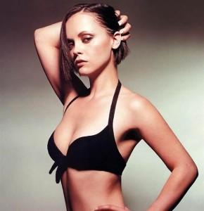 Christina Ricci sexy bra