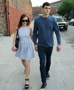 Christina Ricci with boyfriend