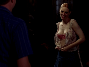 Deborah Ann Woll in lingerie