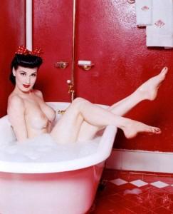 Dita Von Teese vintage naked