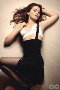 Emily Blunt sexy for GQ