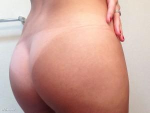 Erin Cummins butt leaked