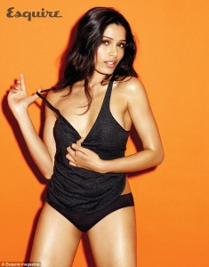 Freida Pinto for Esquire