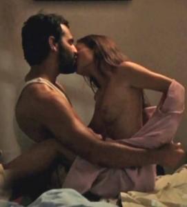 Gabrielle Anwar sex scene screen