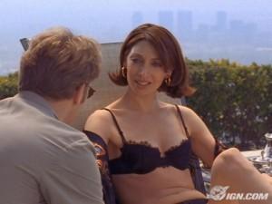Illeana Douglas sexy lingerie