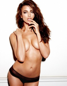 Irina Shayk topless photoshoot