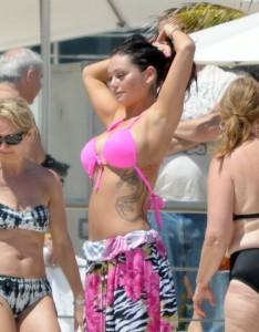 JENNI JWoww FARLEY sexy bikini