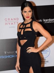 Katrina Kaif sexy black dress