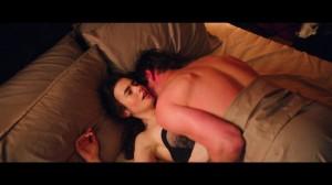 Lily Collins sex scene screen
