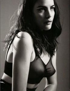 Liv Tyler see through lingerie