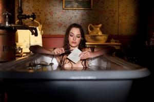 Louise Bourgoin half nipples