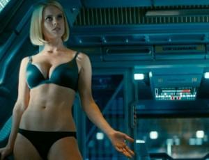 Lydia Wilson topless scene