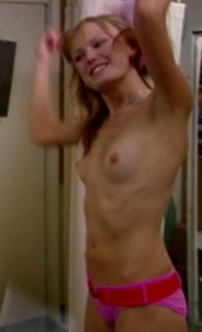 Malin Akerman nipples screen