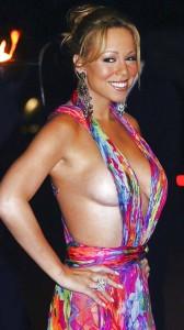 Mariah Carey and slim dress