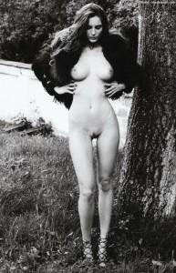 Reka Ebergenyi tits and pussy