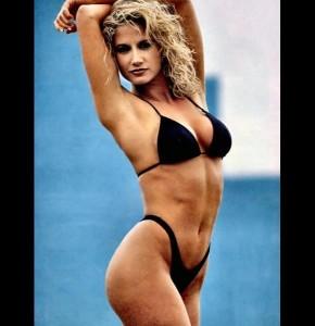Tammy Sytch sexy black bikini
