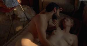 Tilda Swinton naked scene