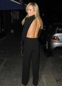 Amanda Holden dress paparazzi