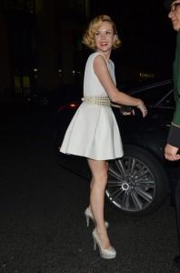 Amanda Holden legs paparazzi