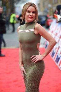 Amanda Holden see through nipples