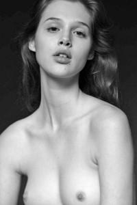 Anais Pouliot topless bw