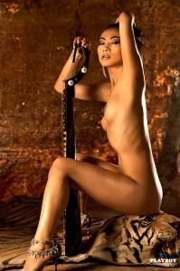 Bai Ling naked for playbot