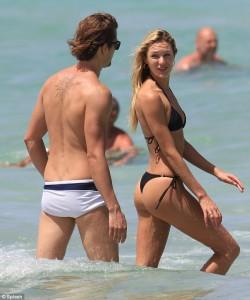 Candice Swanepoel boyfriend paparazzi