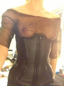 Candice Swanepoel nipples leaked
