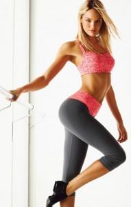 Candice Swanepoel sexy yoga pants