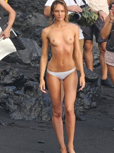 hot topless Candice Swanepoel