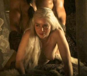 Emilia Clarke fucked screencaps