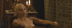 Emilia Clarke nude screen