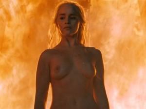 Emilia Clarke nude screencaps
