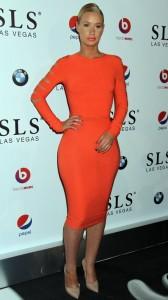 Iggy Azalea hot dress