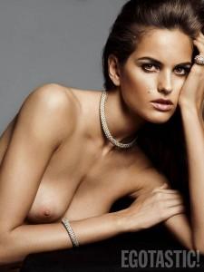 Izabel Goulart full nipple