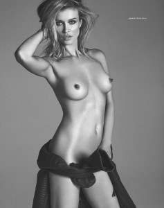 Joanna Krupa bw topless