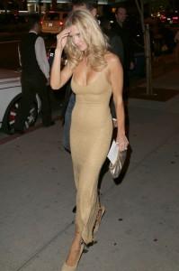 Joanna Krupa dress paparazzi