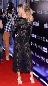 Joanna Krupa hot see thru dress