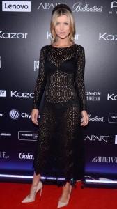 Joanna Krupa sexy see through dress